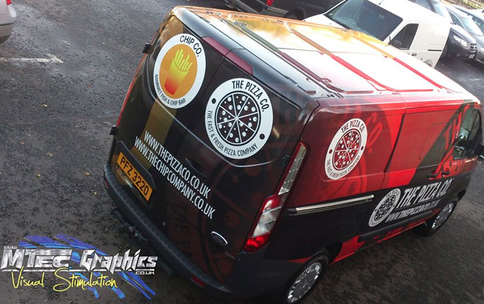 Commercial Vinyl Graphic Wrapping